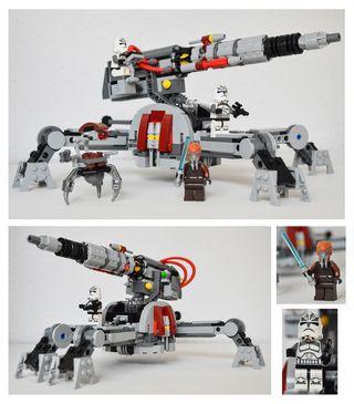 Lego Stars Wars 75045 Cañón antivehículo AV-7