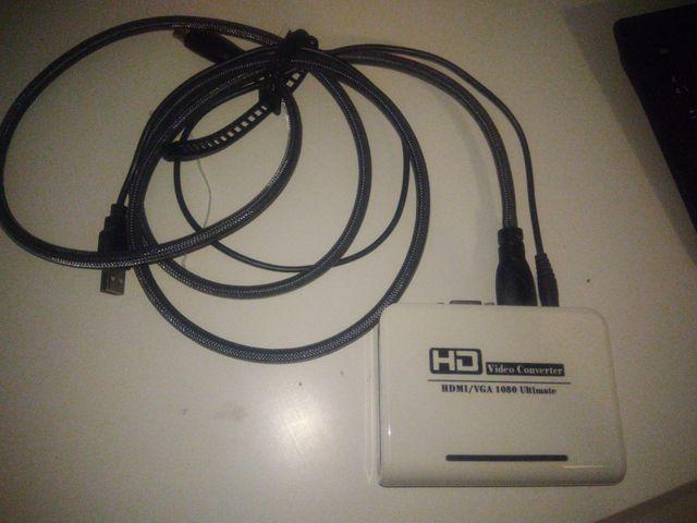 Convertidor de HDMI a VGA.