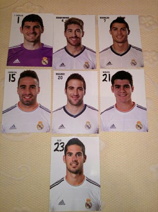 Pack postales Real Madrid