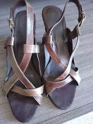 zapatos piel y ante cortefiel