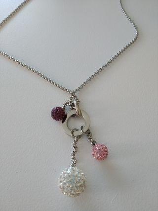 7f682d6657a6 Collar de plata mujer de segunda mano en la provincia de Madrid en ...