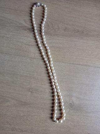 ad935c458e4e Collar de perlas naturales de segunda mano en WALLAPOP