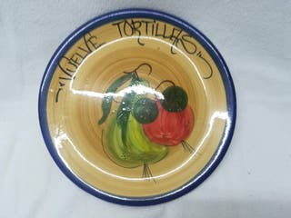 Plato tortillas