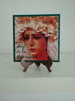 Azulejo Virgen de la Esperanza