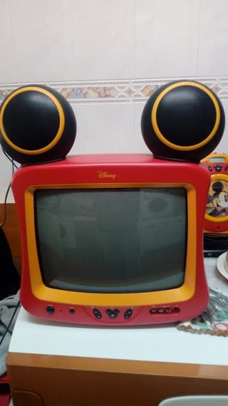 Tv con DVD Mickey Mousse