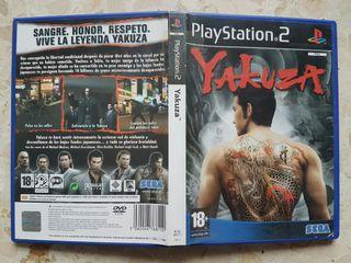 Yakuza PS2