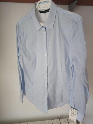 e7a6137d7 Camisas para mujer Zara de segunda mano en Valdemoro en WALLAPOP
