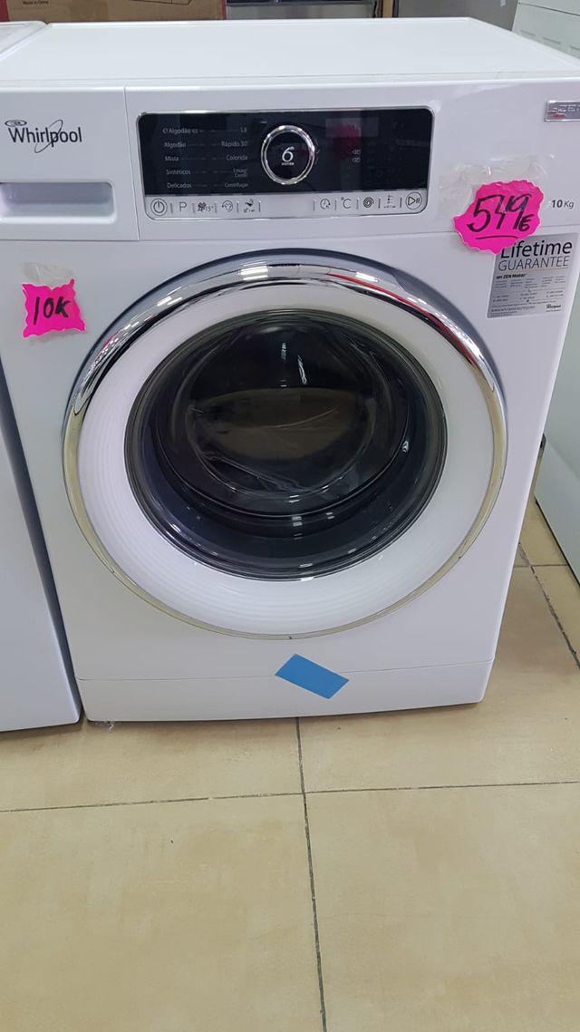 Lavadora Whirlpool de 10 kg