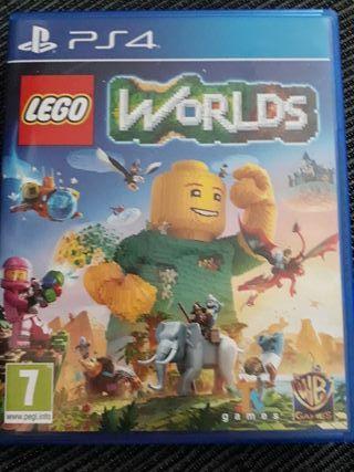 Oferta Navidad!!! Juego PS4 Lego Worlds Nuevo