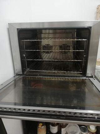 horno de condensación (no necesita salida de humo)