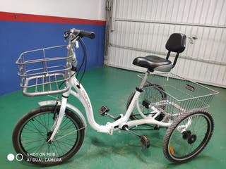 triciclo, adultos ,mayores,plegable,Monty