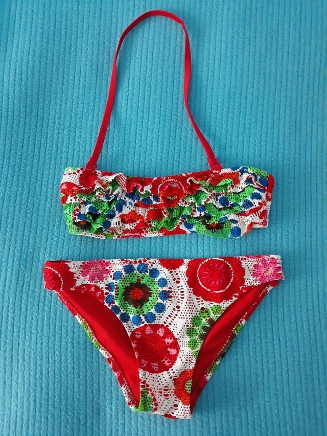 0aaefd1e0f3d Bikini 2 piezas (talla 6-8 años) de segunda mano por 5 € en Madrid ...