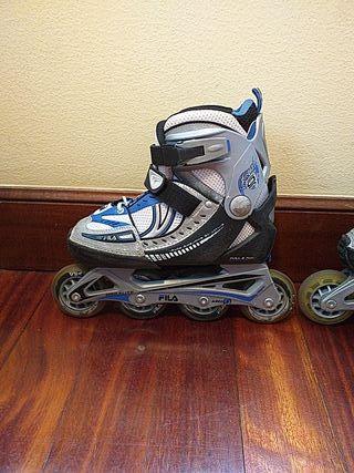patines de línea fila