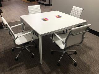 Mesa blanca reunion