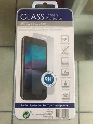 Protège écran iPhone 7 Plus / 8 plus