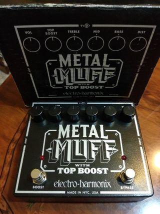 pedal distorcion metal muff