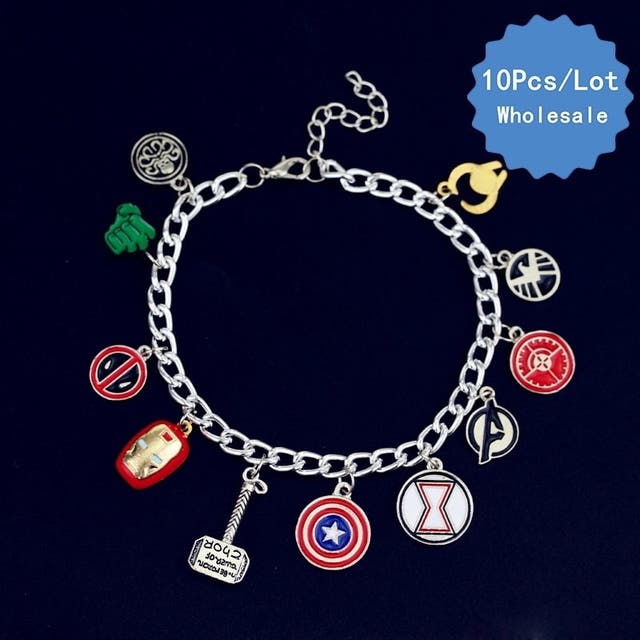 Pulsera o tobillera MARVEL EXCLUSIVA!!!