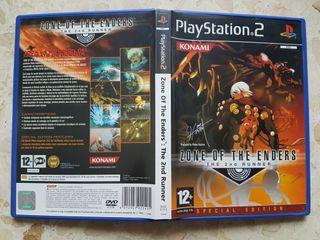 Zone of the Enders 2 Edicion Especial PS2