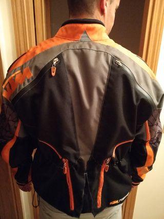 chaqueta de moto ktm talla l