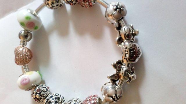 Genuine Pandora Disney charm bracelet 19cm