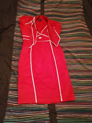 Vestido rojo marca Gsus