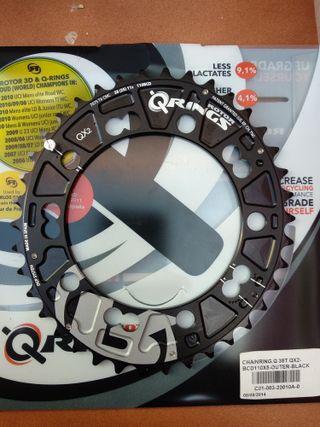 Plato Rotor Ovalado QX2 38t XC2 BCD 110x5
