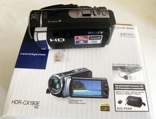 CAMARA Video Sony Handycom HDR-CX190