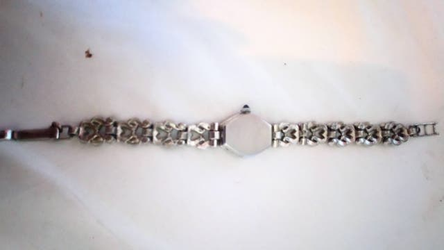Real Silver Ladies 1960's Vintage Wristwatch.