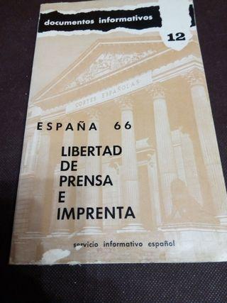 Libertad de prensa e imprenta