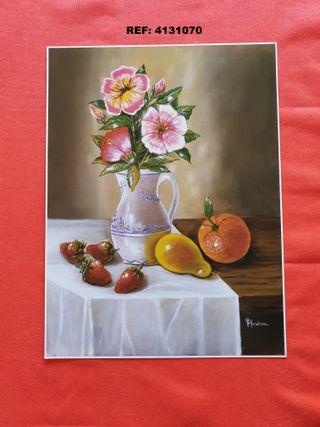 41 x 31 Láminas JARRONES & FLORES