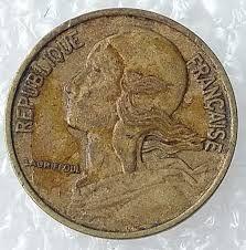 República de Francia 1970 de 5 céntimos