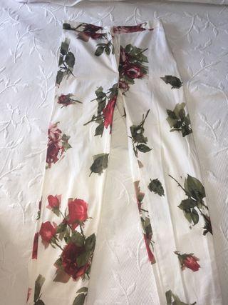 Pantalones flores