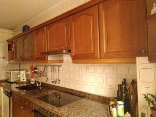Cocina, muebles madera de segunda mano por 280 € en Gijón en WALLAPOP