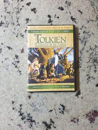 Tolkien El Maestro de los anillos DVD+CD+Libreto