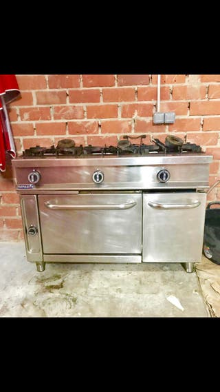 Cocina industrial repagas 3 fuegos