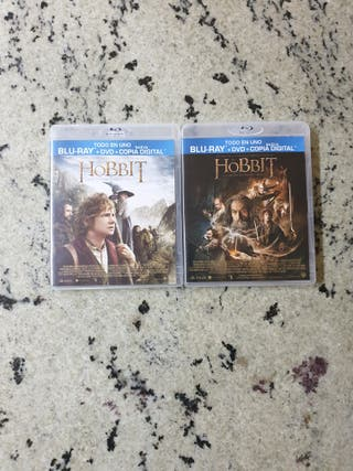 Películas del El Hobbit en Blue-Ray