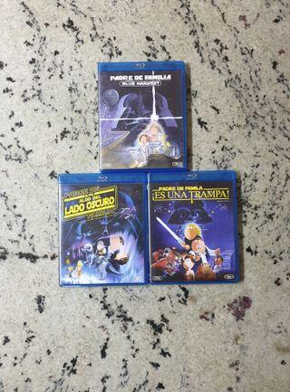 Trilogía PADRE DE FAMILIA STAR WARS Blue-Ray