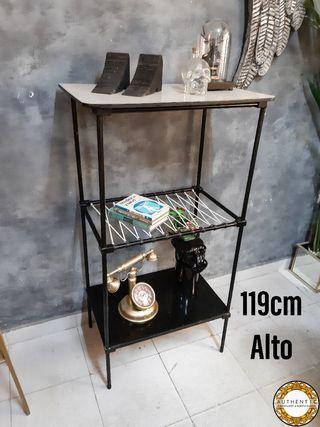 Estanteria Vintage Hierro 119cm Alto