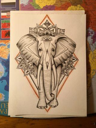 Dibujo por encargo