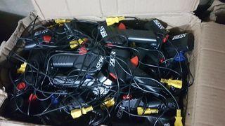 gran lote mandos y transformadores scalextric