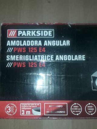 amoladora radial eléctrica Parkside