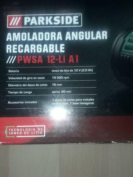 amoladora angular recargable mini amoladora