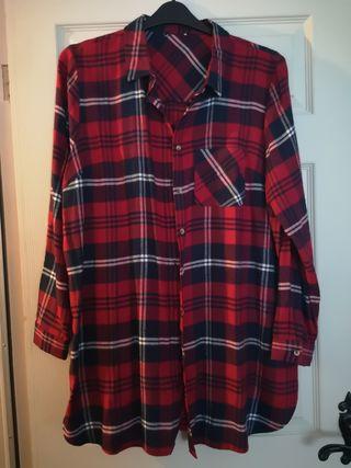 Brand new size 20 tartan shirt womens