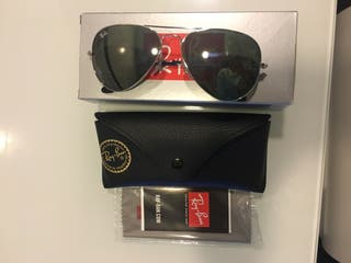 4b8e24d86e Gafas de sol espejo de segunda mano en la provincia de León en WALLAPOP