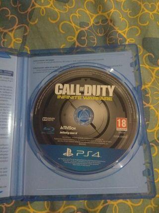 Se vende juego ps4 call of duty