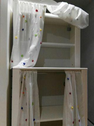 Armario infantil baldas