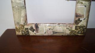 Antiguo marco restaurado