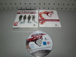 Juego PS3 Flash Point Red River Completo PAL ESP