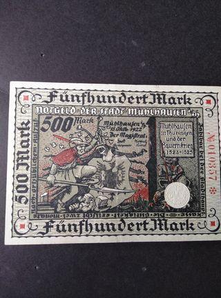 República Weimar 500 marcos