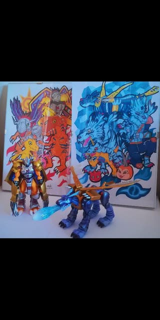 Pack D-Arts Digimon